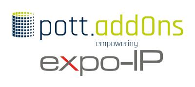 pott.addOns für expo-IP-Messesystem