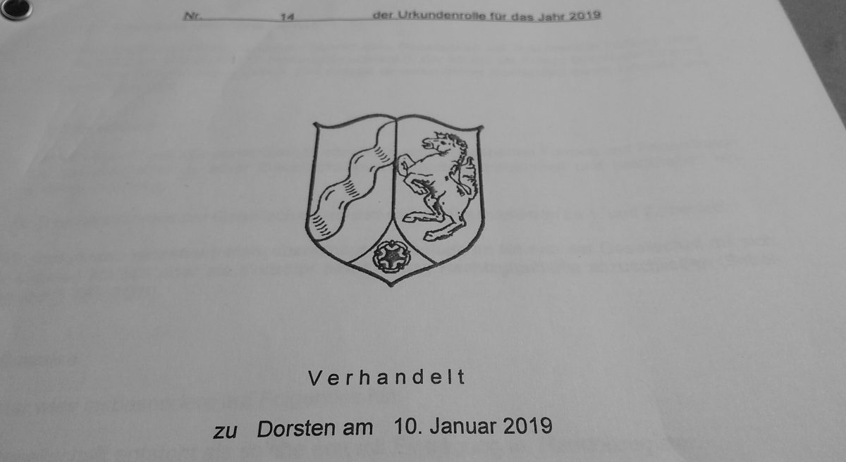 Gründungsurkunde Deckblatt pott.digital